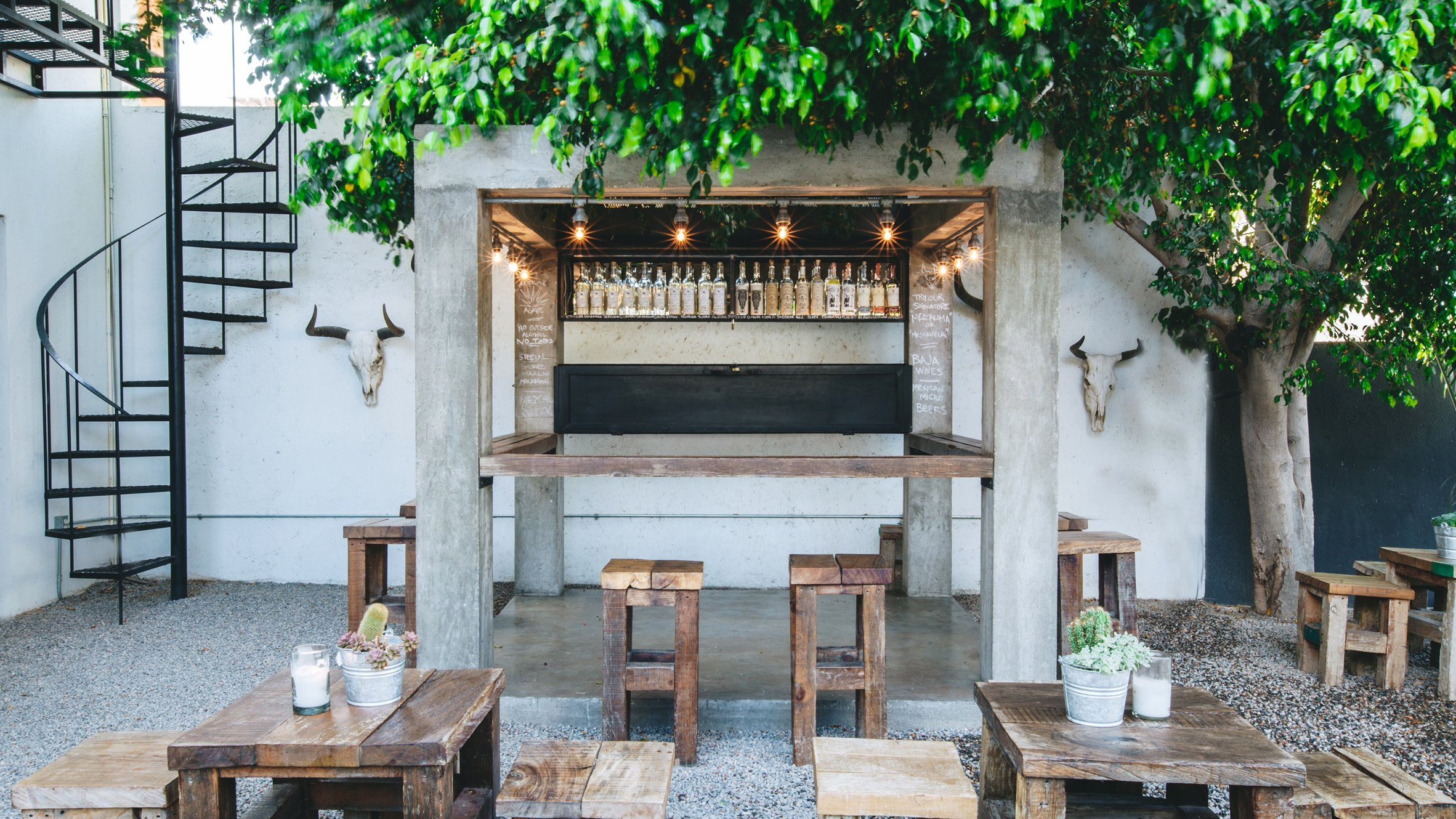 Boutique Hotel In Cabo Offers Design Store Food Carts And Mezcal Bar