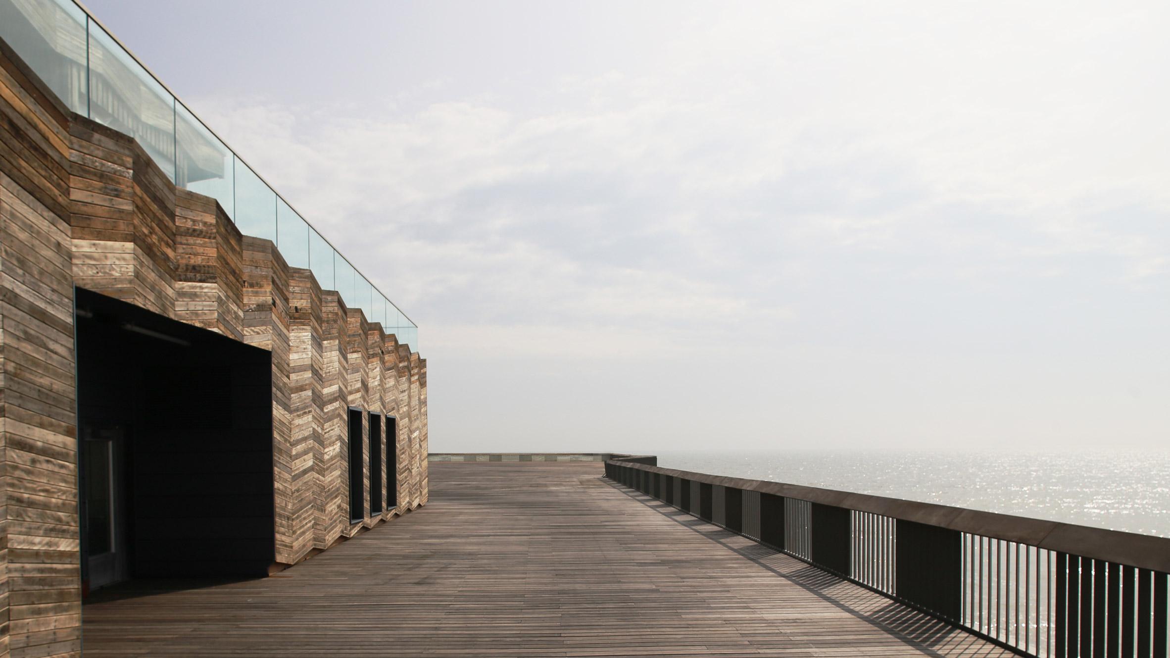 British seaside pier gets 21st century update by dRMM