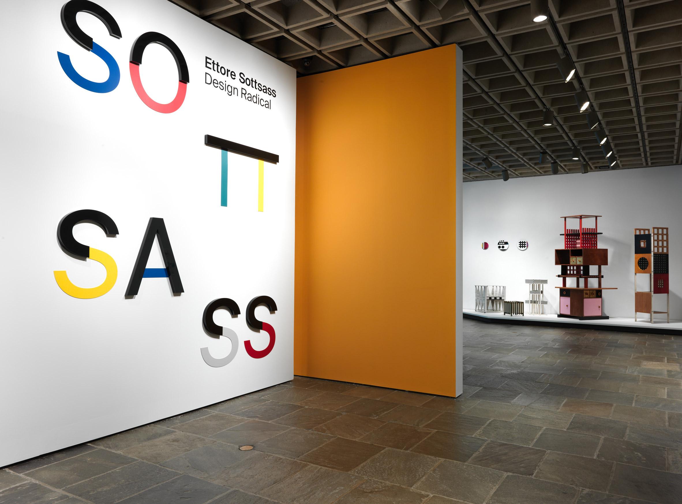 Met Breuer exhibition contextualises Ettore Sottsass' colourful designs