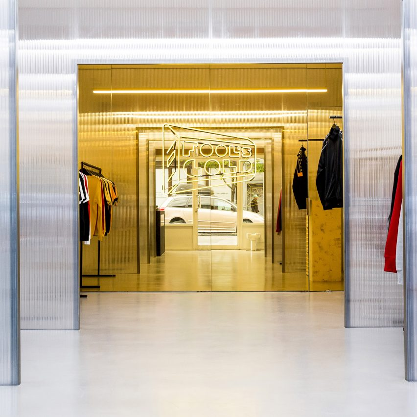 Family new york designs brooklyn record and clothing store for Young interior designers nyc