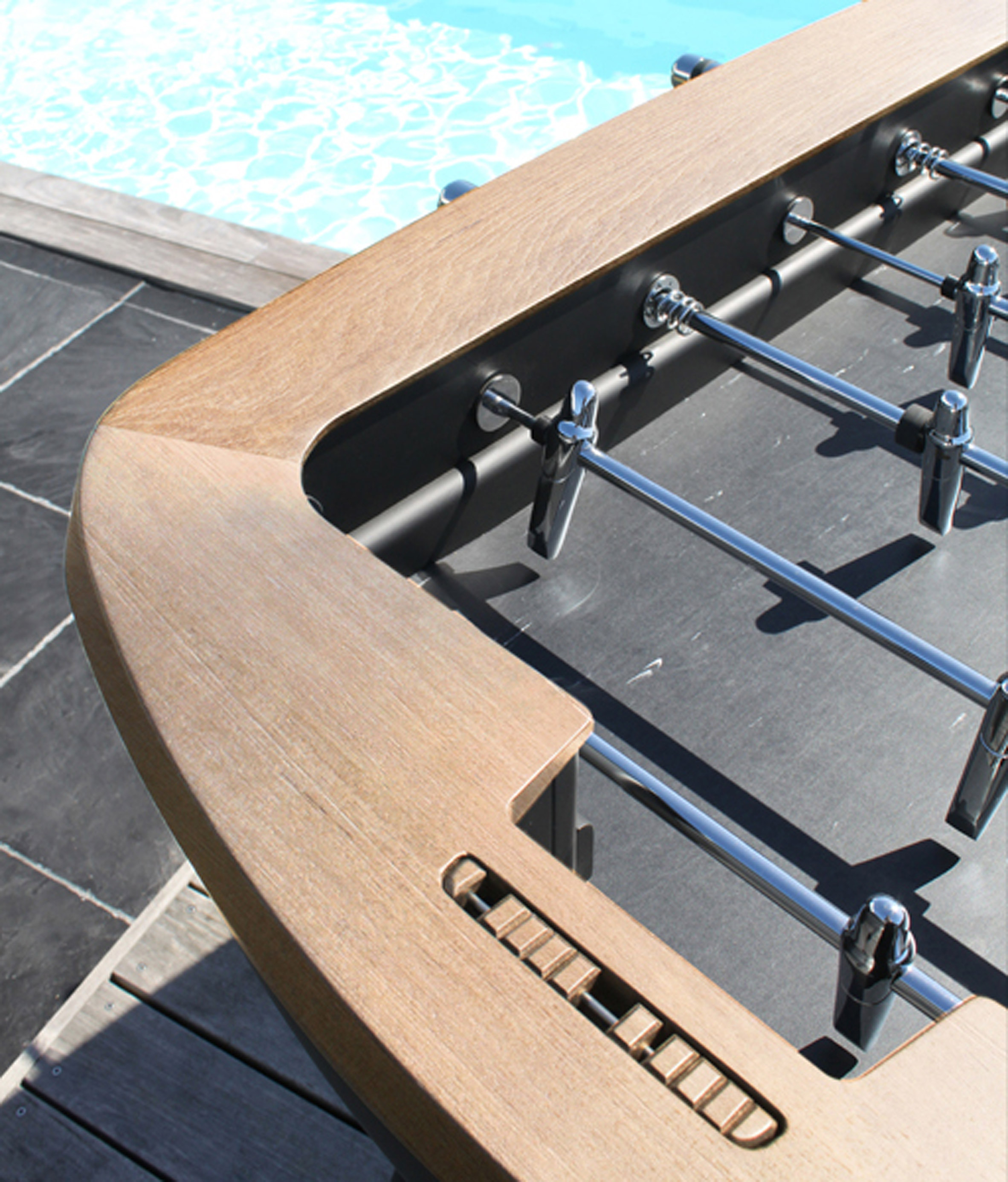 Foosball table by Alain Gilles