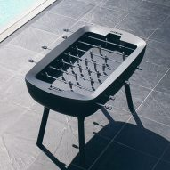 """Alain Gilles designs foosball table that """"doesn't have to be hidden in the basement"""""""