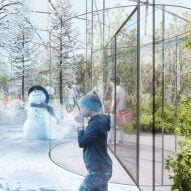 All four seasons coexist in Milan garden proposed by Carlo Ratti