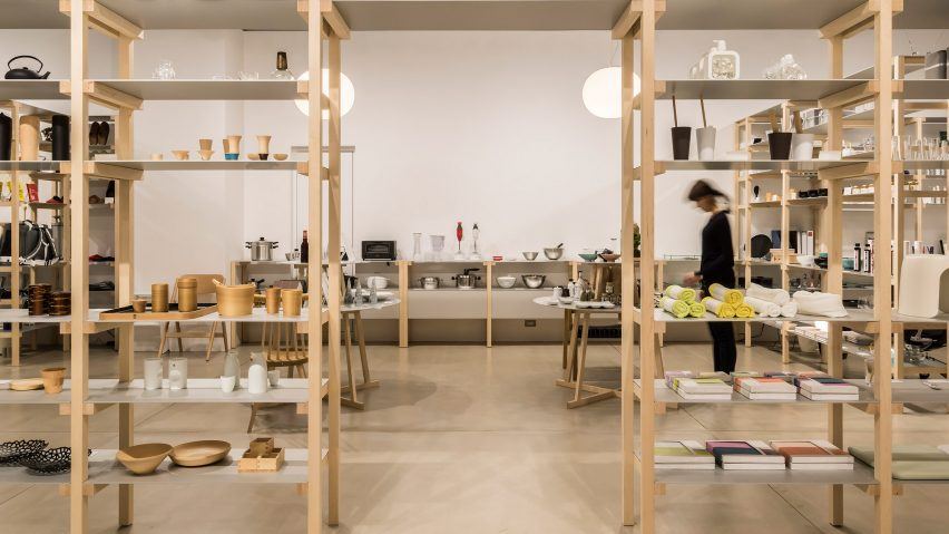 jasper morrison creates house like layout for tokyos good design store - Good Design House