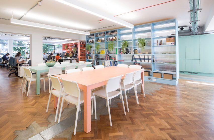 Studio Interrobang refurbishes Shoreditch office