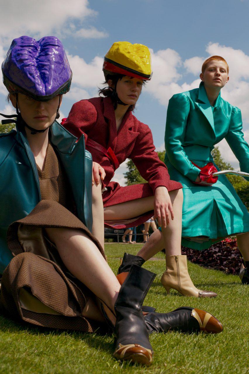 Johanna-Maria Parv fashion collection, CSM Graduates 2017
