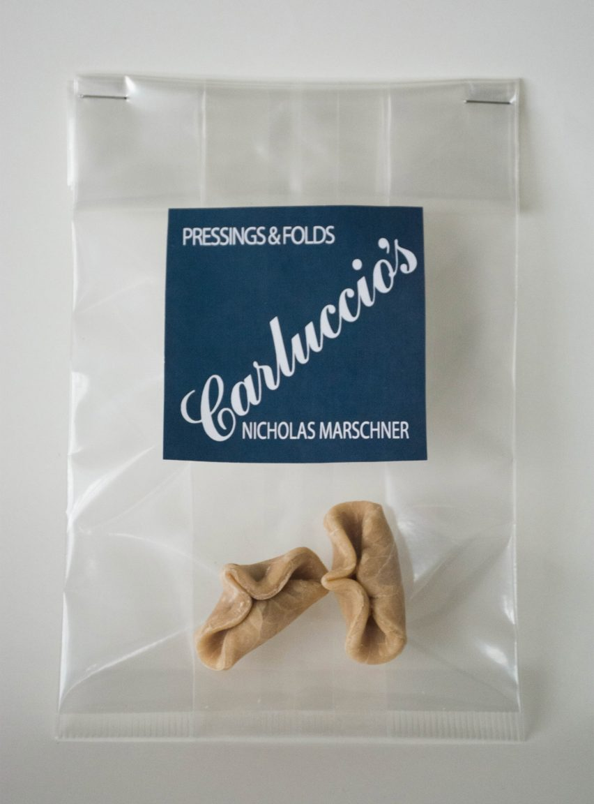 The Cass students design pasta for Carluccio's
