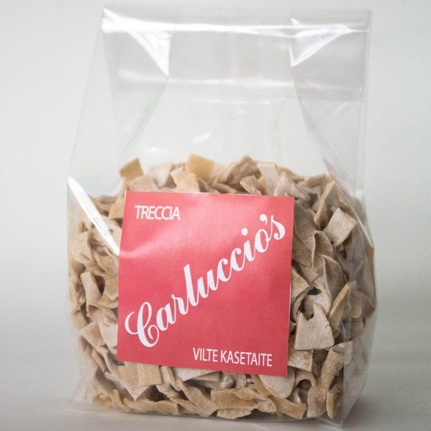 The Cass students design pasta for Carluccio's