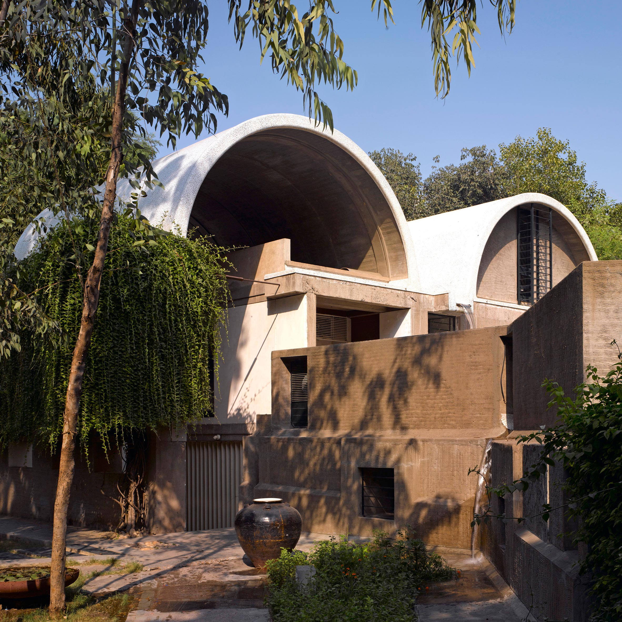 indian architecture and design dezeen magazine key projects by influential indian architect balkrishna doshi