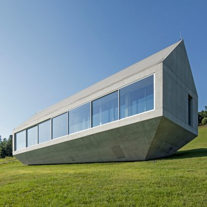 Robert Konieczny's Ark House features a drawbridge