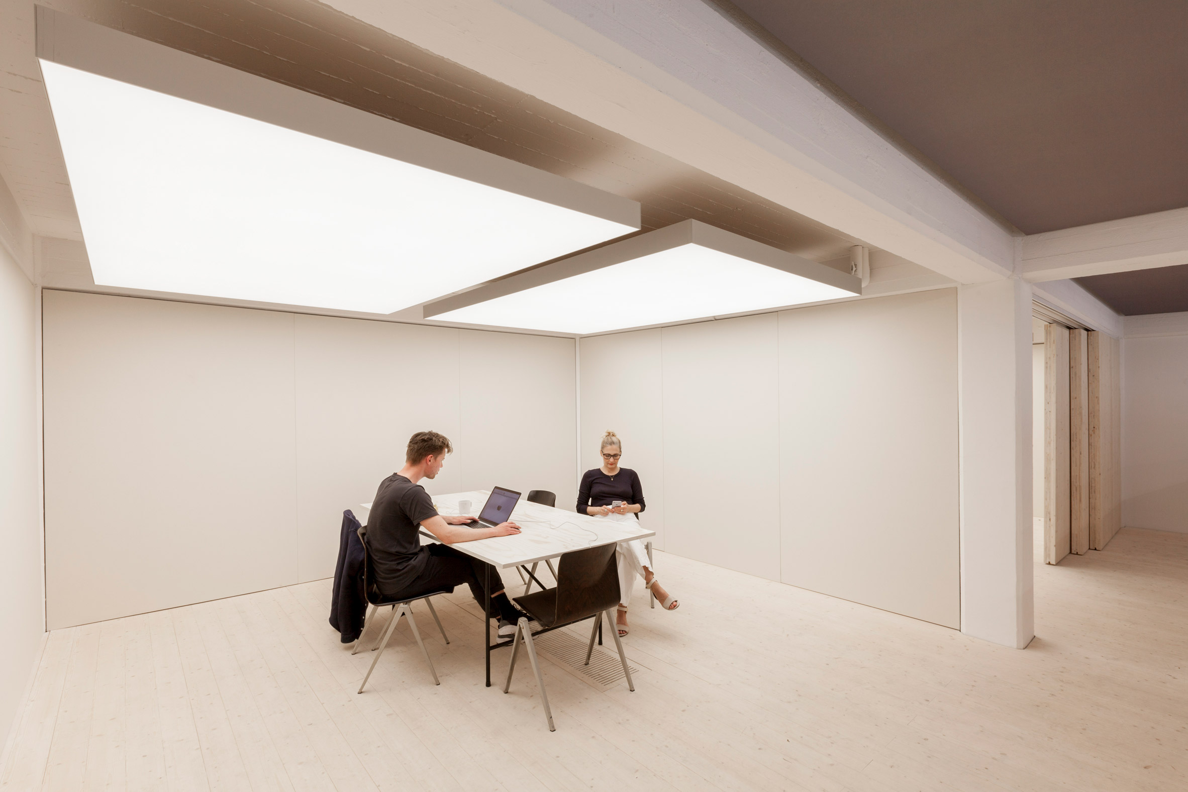 Kvadrat Soft Cell studio by Caruso St John