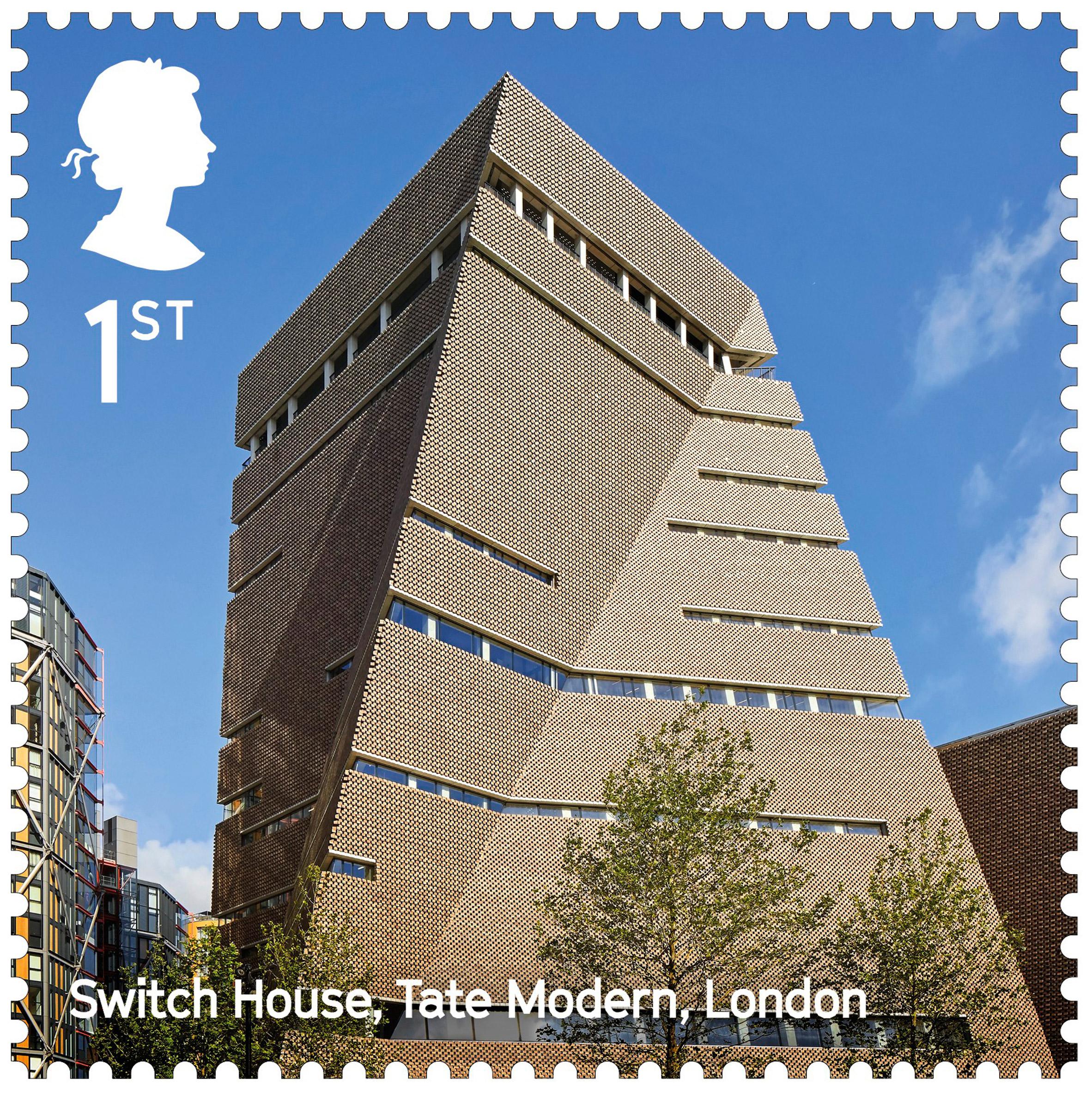 Landmark building stamps