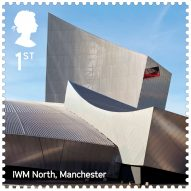 "Royal Mail's latest stamp collection celebrates the UK's ""renaissance of contemporary architecture"""