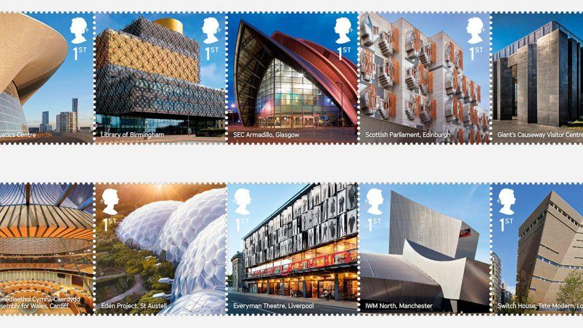 Royal Mail stamp collection celebrates UKs renaissance of