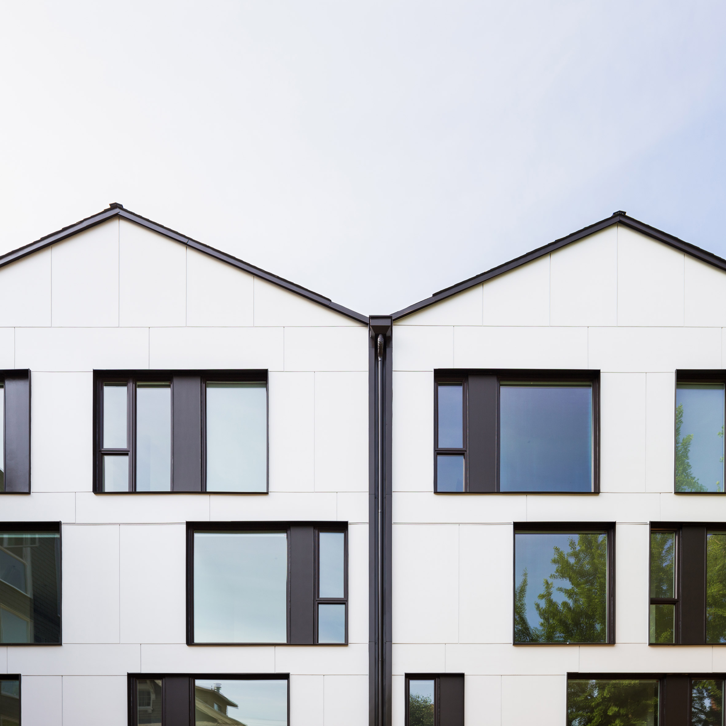 Works Progress Architecture tops Portland apartment building with zigzagging roof