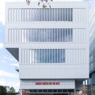 Renzo Piano designs top-heavy arts centre for Columbia University