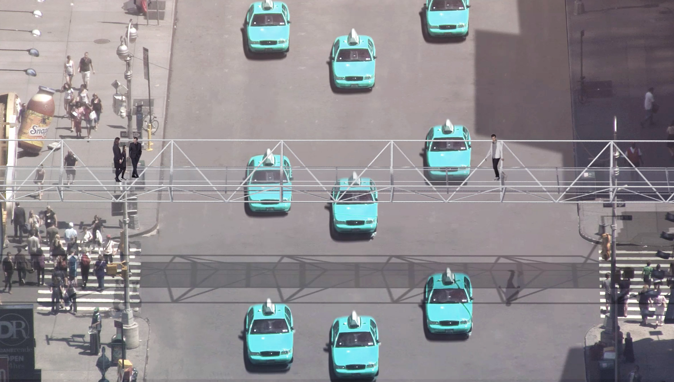 Loop NYC driverless-car proposal offers Manhattanites more time and green space