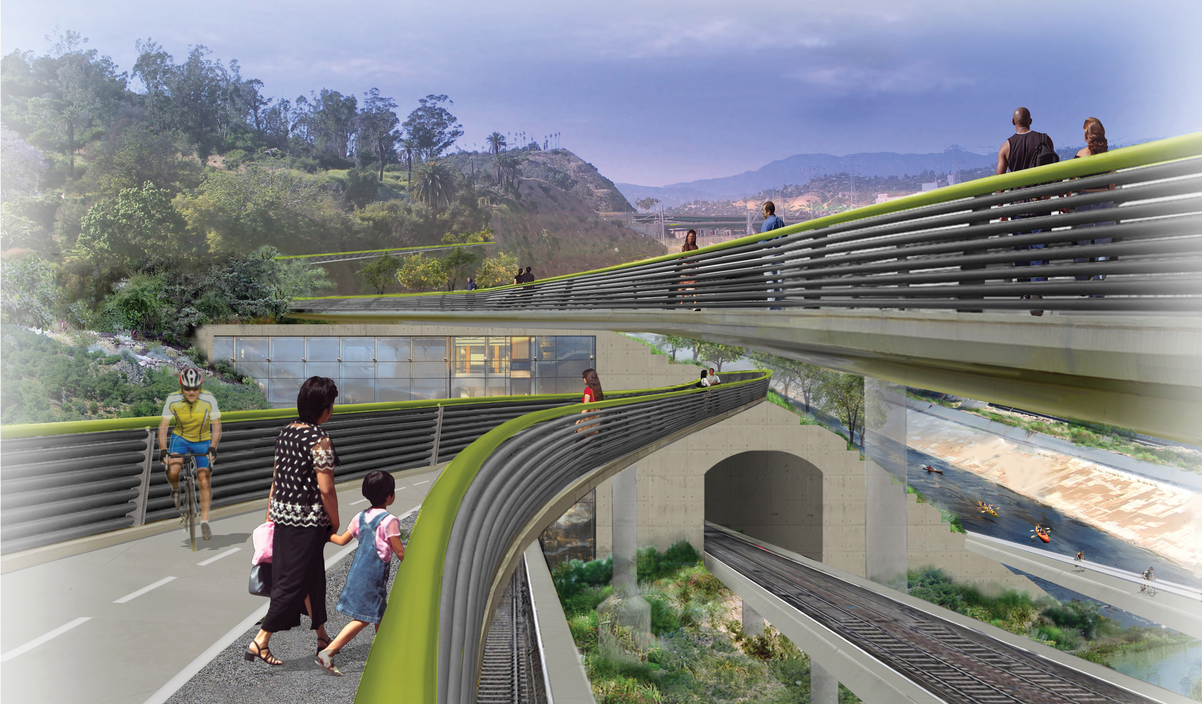 Captivating Architectsu0027 Proposals To Revitalise The Los Angeles River Design Ideas