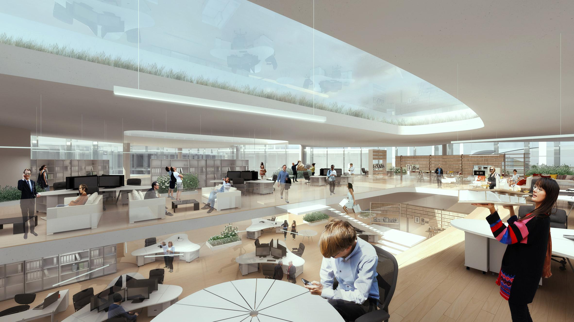 Faraday Future headquarters by MAD Architects
