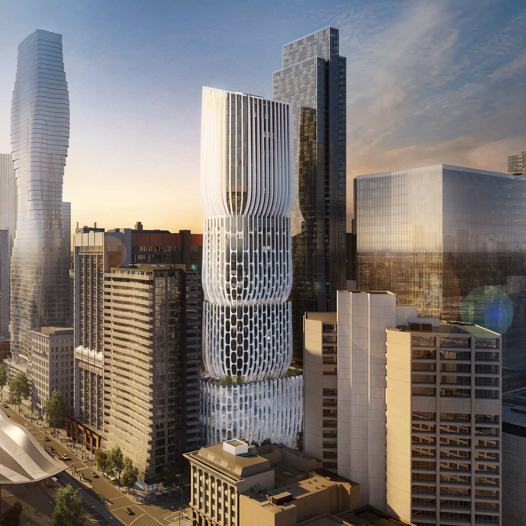 skyscraper architecture and tall buildings dezeen magazine zaha hadid architects unveils new visuals for