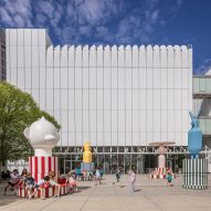 Jaime Hayon installs spinning Merry Go Zoo totems at Atlanta art museum