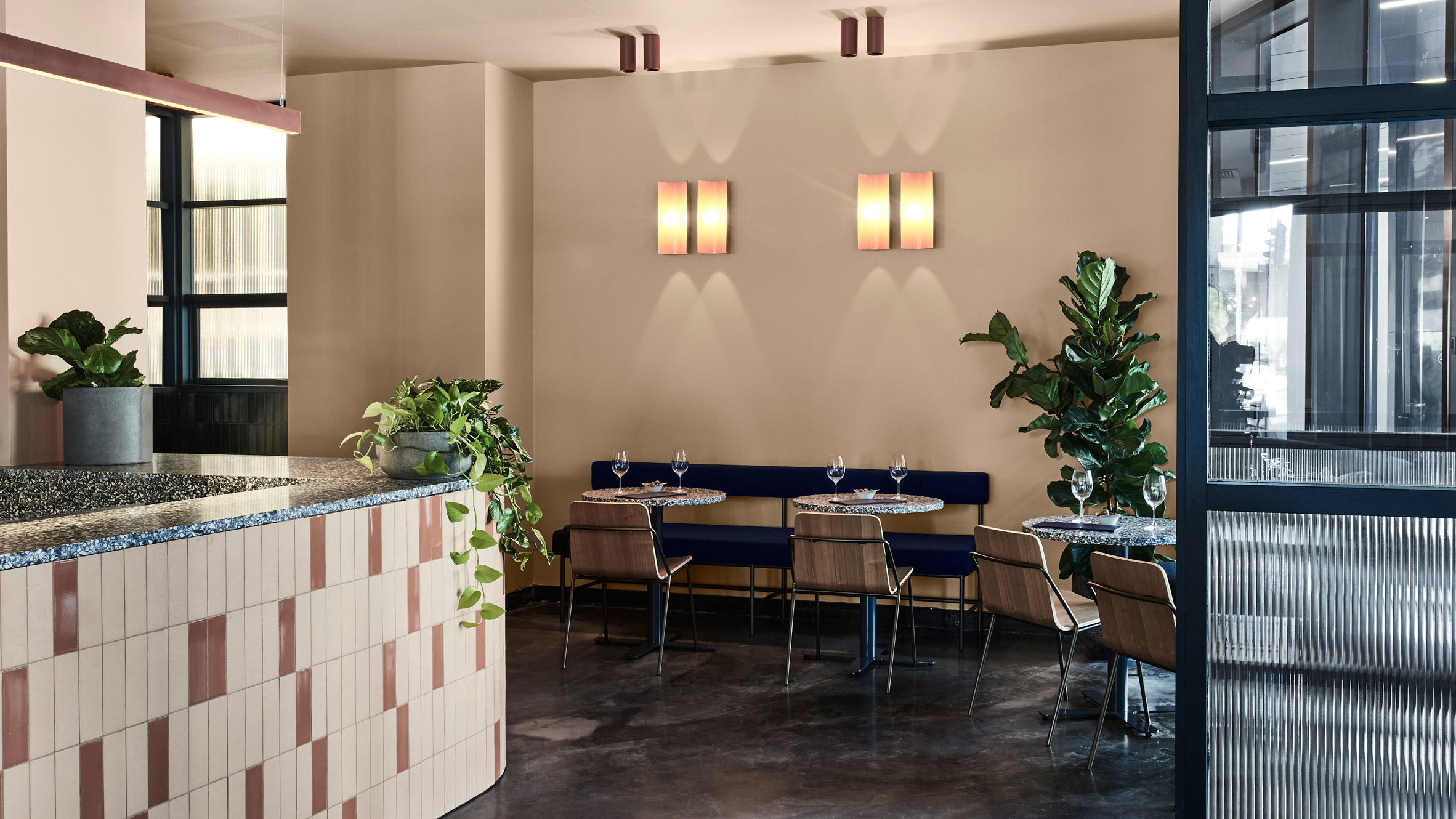 Biasol Uses Middle East S Evocative Earthiness For Melbourne Restaurant