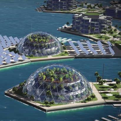 The Seasteading Institute plans to build floating cities at sea