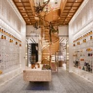 Waterfrom subverts clinical pharmacy stereotype with airy interior for Taiwan's Molecure
