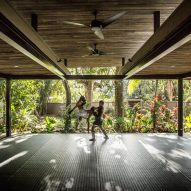 Studio Saxe surrounds Costa Rican yoga retreat with jungle planting