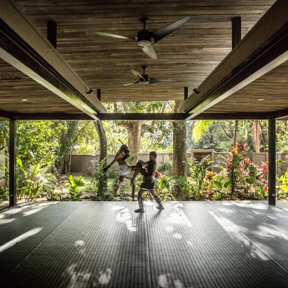 Nalu boutique hotel and yoga studio, Costa Rica, by Studio Saxe