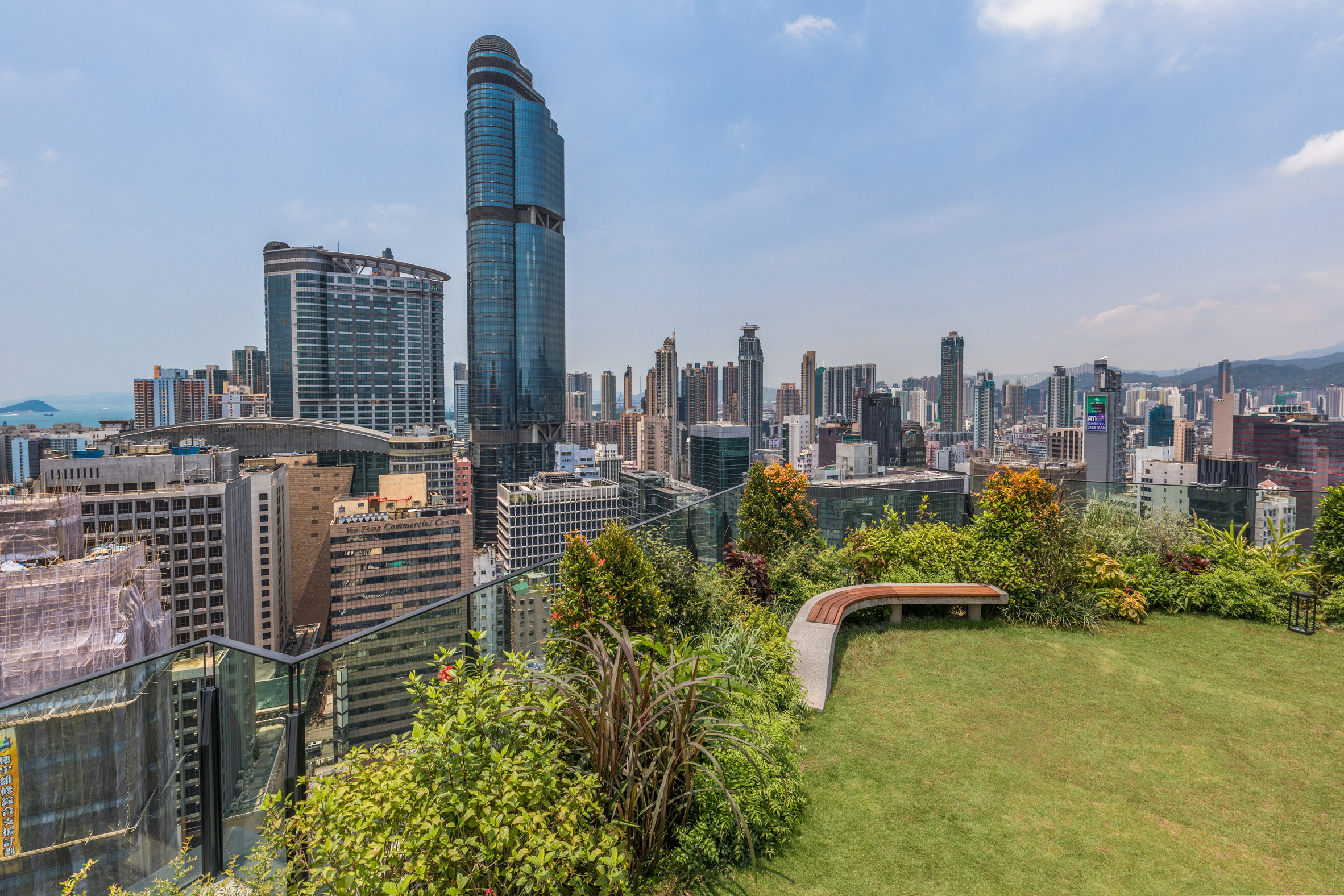 "Hong Kong's Skypark rooftop provides a playground for ""balance-centric millennials"""