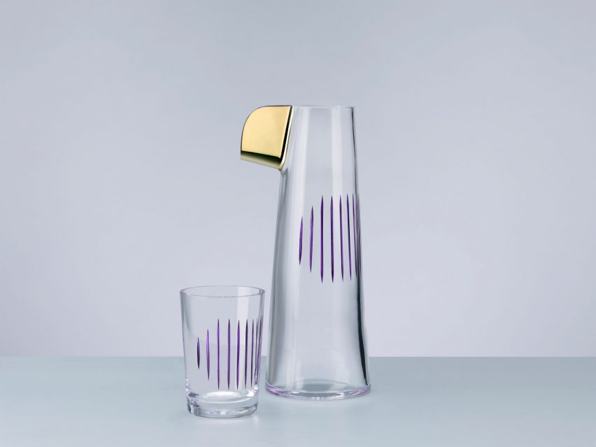 Glassware brand Nude has released a set of vases and jugs designed by Tomas Kral