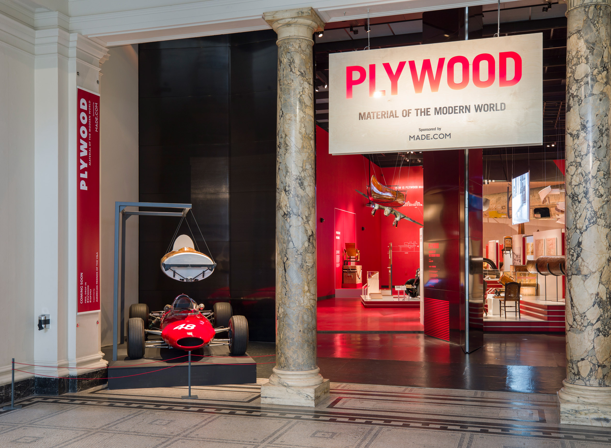 V&A exhibition charts the rise and fall of humble plywood