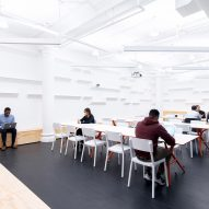 Quartz office, Manhattan, by Desai Chia Architecture