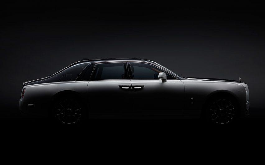 Rolls-Royce unveils new Phantom car