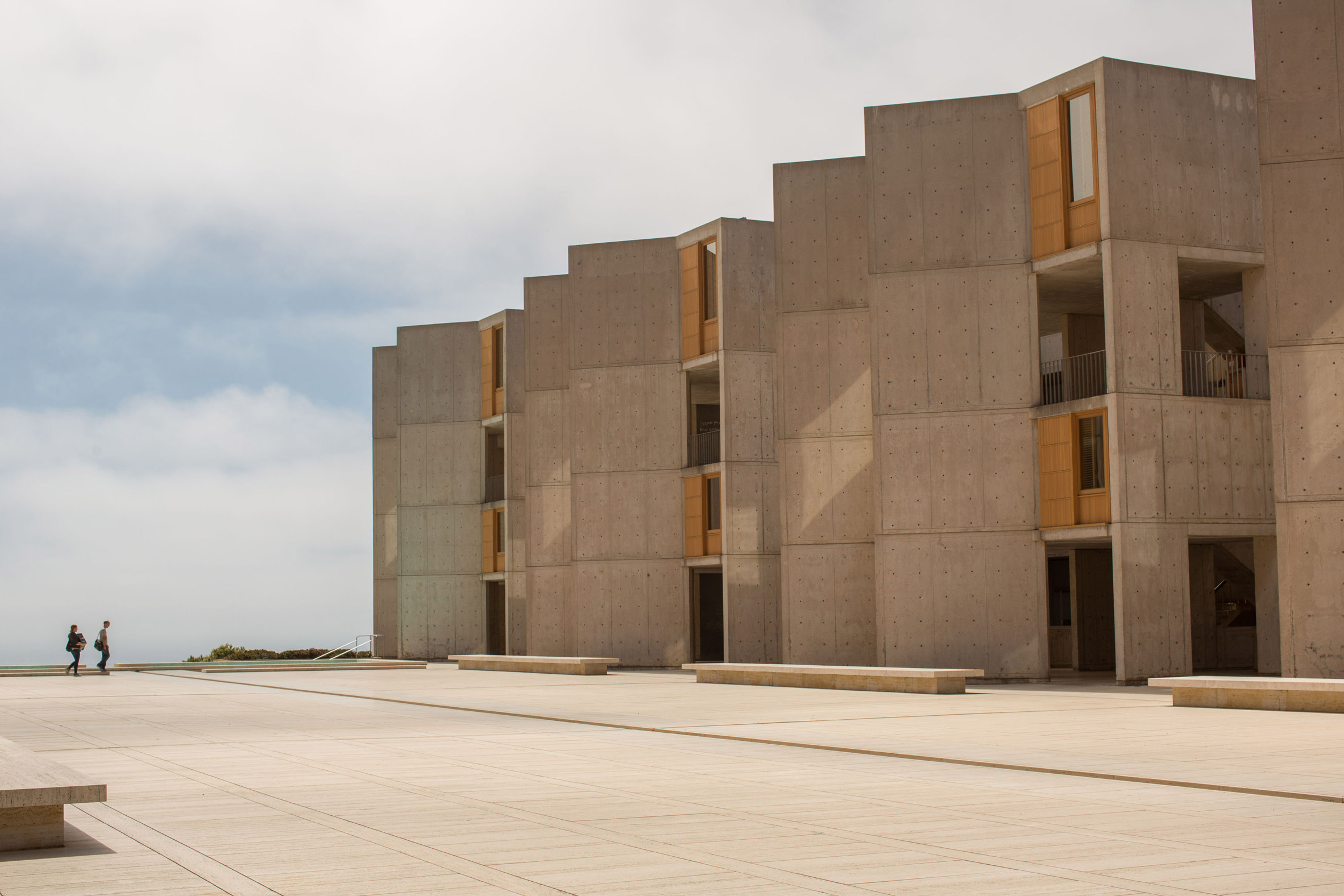 Restoration work completes on Louis Khan's Salk Institute in California