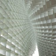 Bjarke Ingels creates huge Serpentine Gallery Pavilion using fibreglass boxes