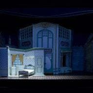 David Rockwell theatre set models