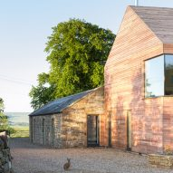 Richard Pender and Dan Kerr combine local materials at self-built Shawm house