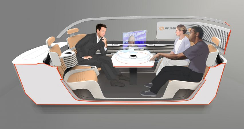 Signal mobile work space by Armin Peters