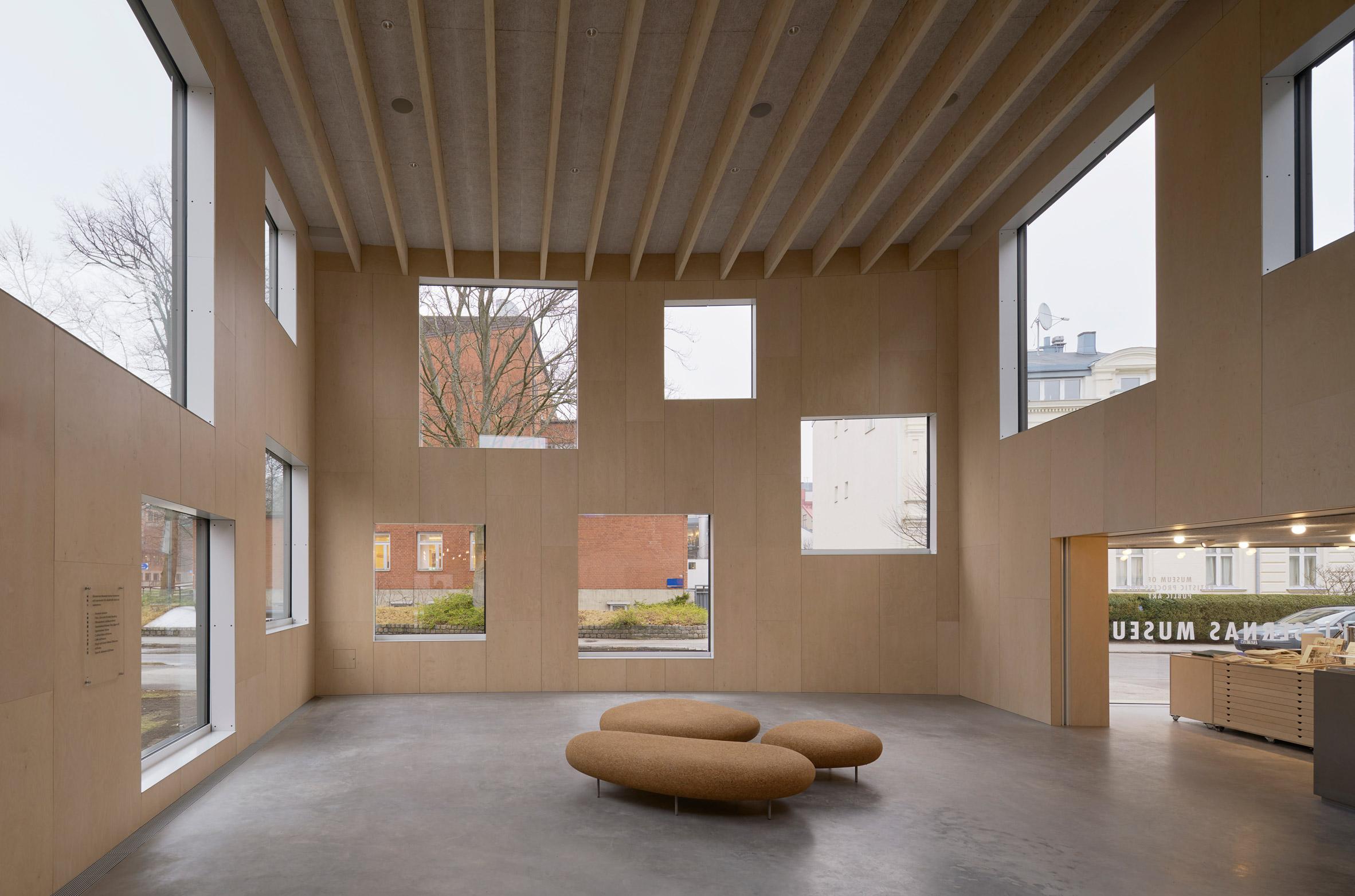 Skissernas Museum extension by Elding Oscarson