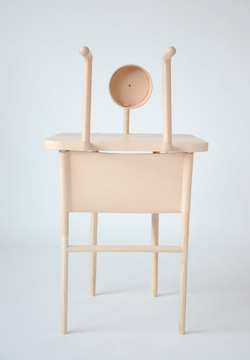 Furniture Design University London xiang guan designs furniture that only works when a human is present