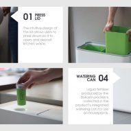 Loughborough University graduate Benjamin Cullis Watson designs Taihi rubbish bin