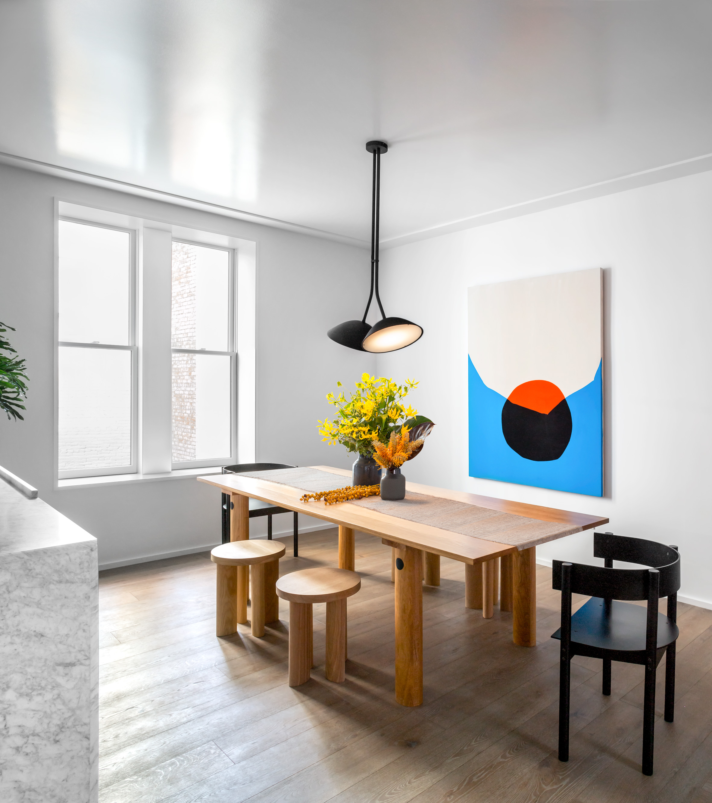 Matter's model apartment at The Standish, Brooklyn