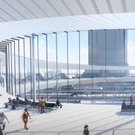 Ring-shaped concourse proposed for major renovation of Los Angeles' Union Station