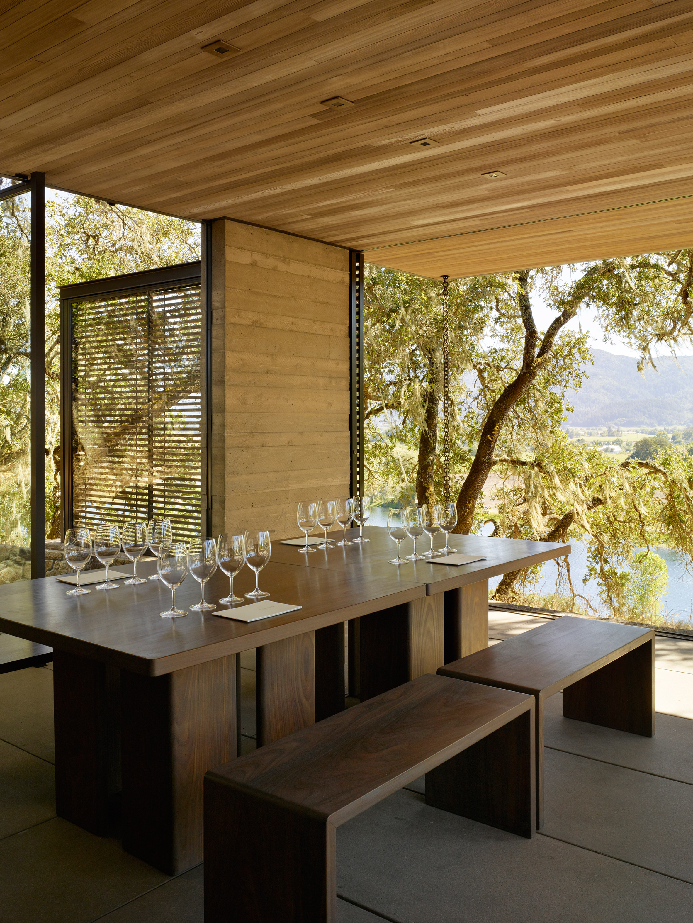 Walker Warner Architects create wine-tasting pavilions in Napa