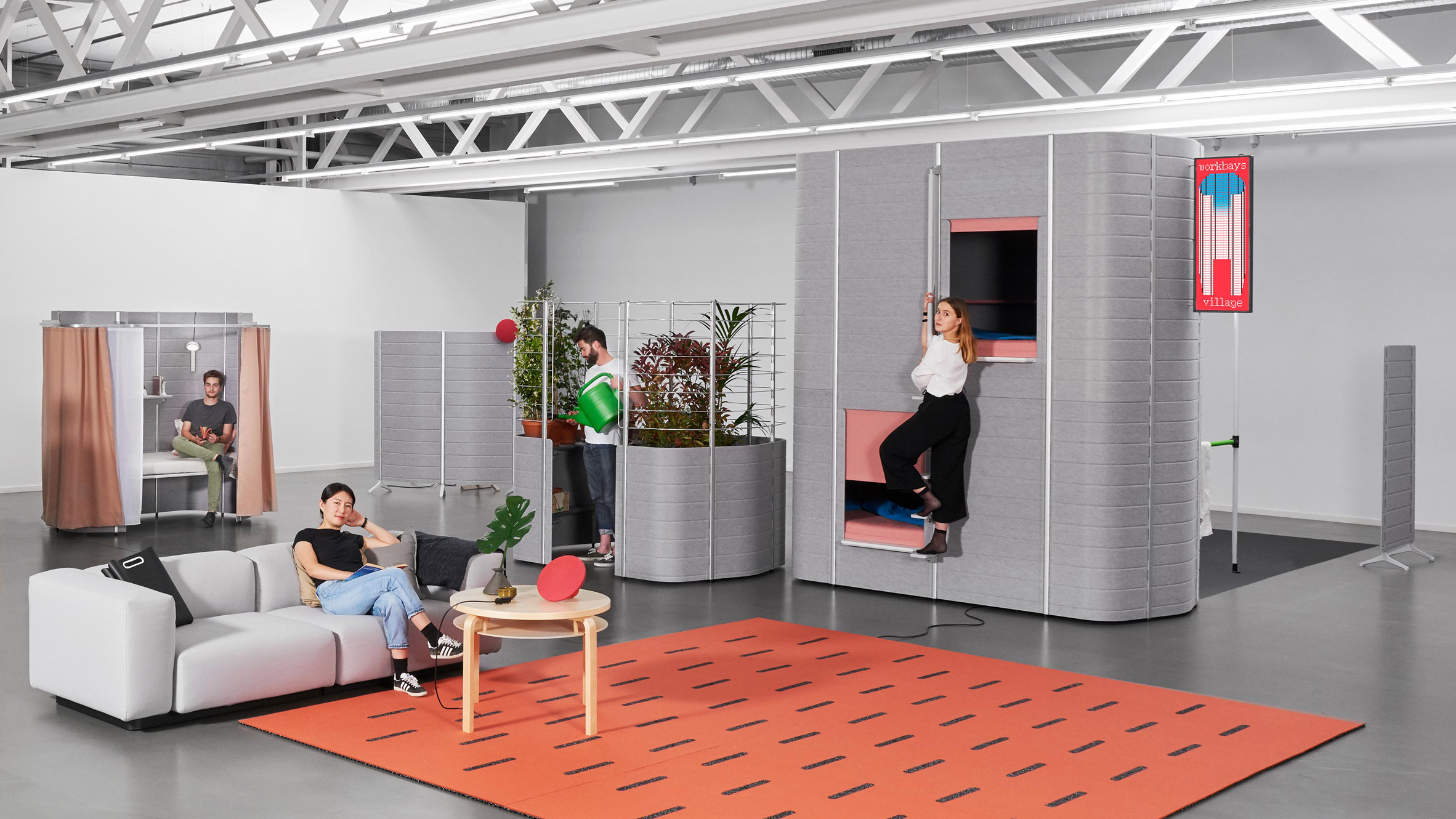 ECAL students design Workbays Village
