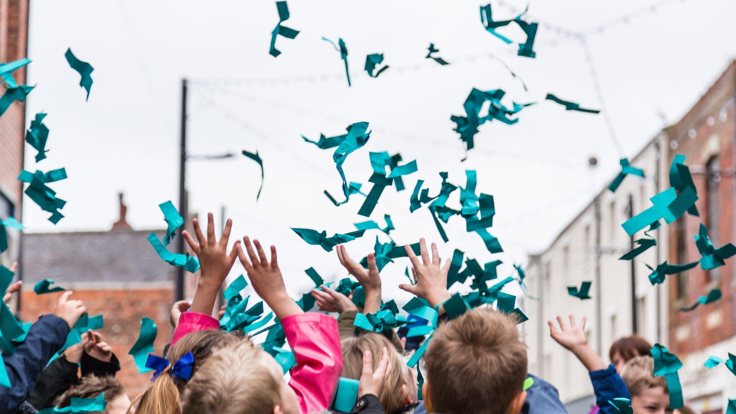 Paper company, G.F Smith, celebrates the world's favourite colour