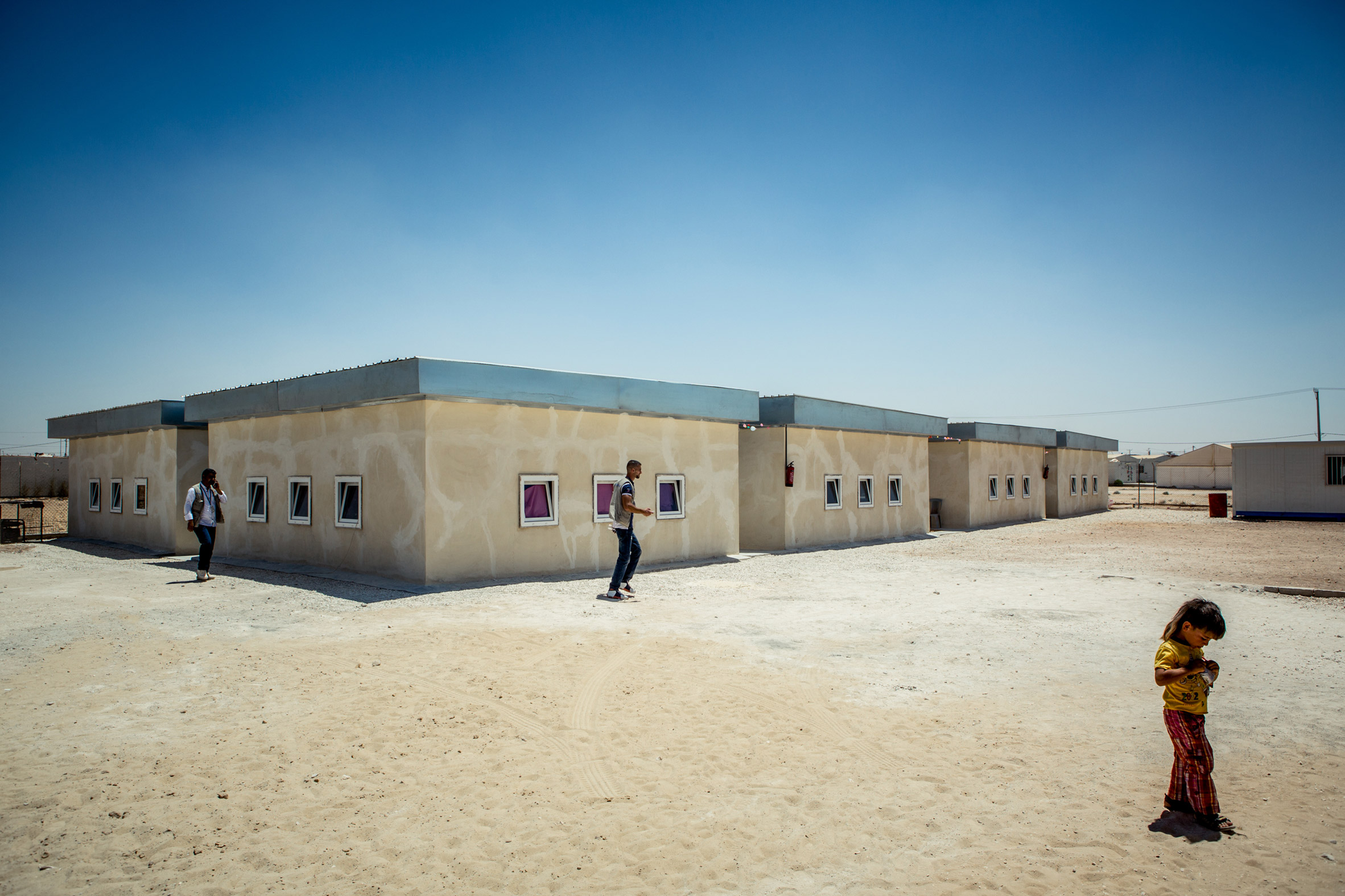 Low-cost school for 3,000 children planned at Syrian refugee camp in Jordan