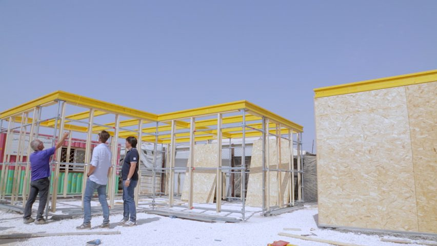 Za'atari camp school, Jordan, for Syrian refugees